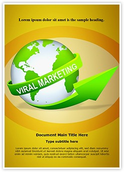 Viral Marketing Editable Word Template
