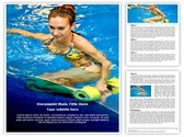 Aqua Aerobics Editable Word Template