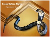 Cobra Snake Editable PowerPoint Template