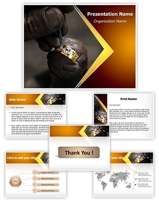 Goldsmith Editable PowerPoint Template