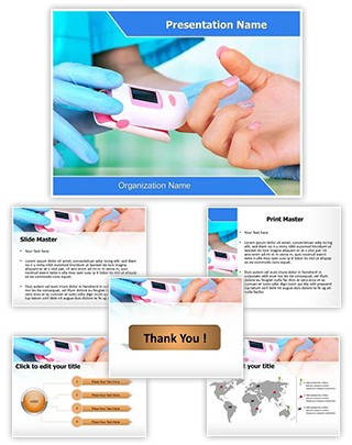 Checking Pulse Rate Editable PowerPoint Template