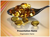 Vitamin Oil Capsules Editable PowerPoint Template