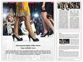Fashion Show Editable Word Template