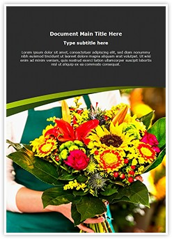 Florist Editable Word Template