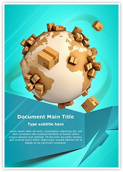 Global Shipment Editable Word Template
