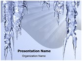 Icicles Hanging Template