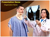 Neck X-ray PowerPoint Templates