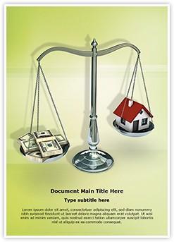 Mortgage Loan Editable Word Template