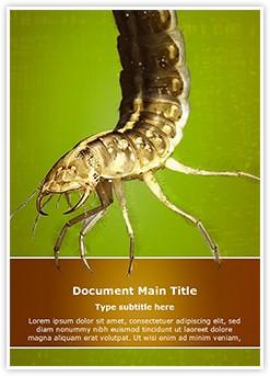 Water Larva Editable Word Template