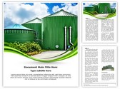 Biogas Industrial Plant Template