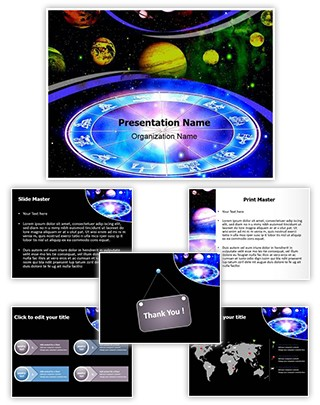 Astrologer Editable PowerPoint Template
