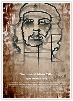 Che Guevara Editable Word Template