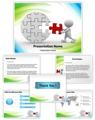 Last Puzzle Piece Editable PowerPoint Template