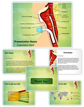 Tracheostomy Editable PowerPoint Template