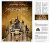 Disney Old Castle Template