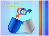 Medical Sexual Pills PowerPoint Templates
