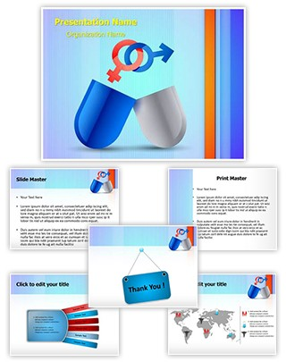 Medical Sexual Pills Editable PowerPoint Template