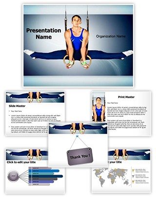 Gymnastics Editable PowerPoint Template