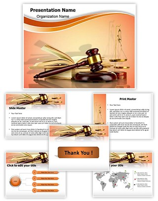Legal Education Editable PowerPoint Template