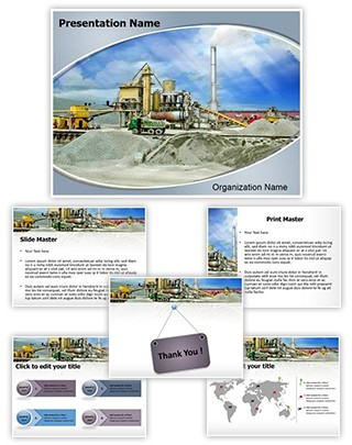 Cement Editable PowerPoint Template