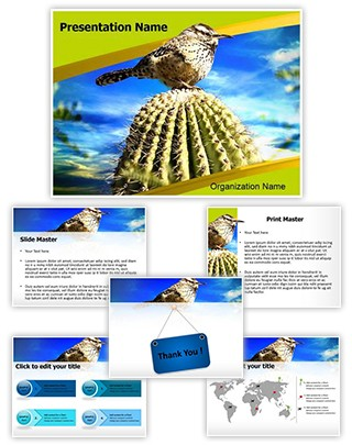 Cactus Editable PowerPoint Template