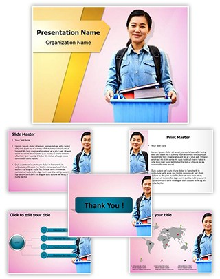 Dormitory Editable PowerPoint Template