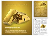 Gold Brick Template