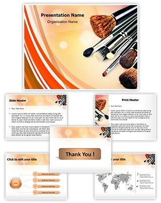 Makeup Editable PowerPoint Template