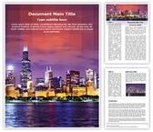 Metropolitan City Editable Word Template