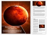 Planet Mars Editable Word Template