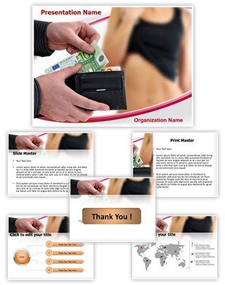 Paying Prostitute Editable PowerPoint Template