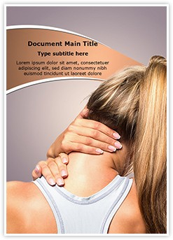 Neck Injury Editable Word Template