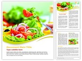 Healthy fruit salad Diet Template