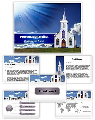 Christian Church Editable PowerPoint Template