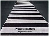 Crosswalk Editable PowerPoint Template