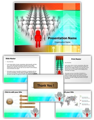 Organizational Leadership Editable PowerPoint Template