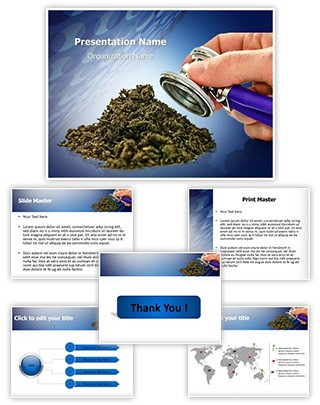 Fertilization Soil Check Editable PowerPoint Template