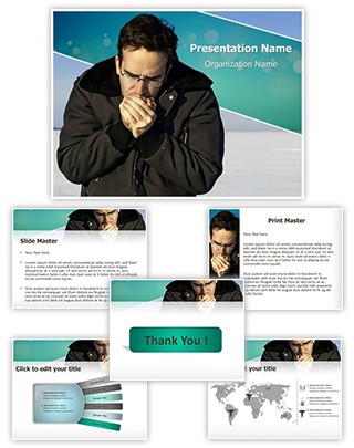 Frostbite Editable PowerPoint Template