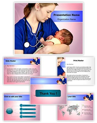 Midwifery Editable PowerPoint Template