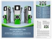 Electric Car Charging Station Template