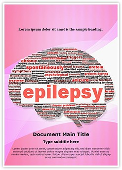 Epilepsy Editable Word Template
