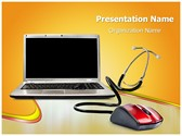 Online Medical Support PowerPoint Templates