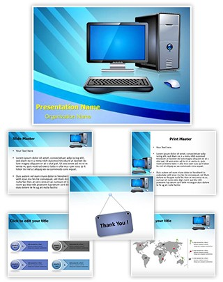 Computer Editable PowerPoint Template