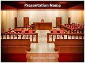Courtroom Editable PowerPoint Template