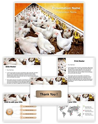 Poultry Farm Editable PowerPoint Template