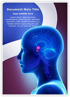 Brain Pituitary Gland Editable Word Template