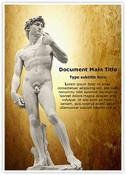 Michelangelos David Editable Word Template