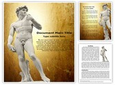 Michelangelos David Editable Word Template