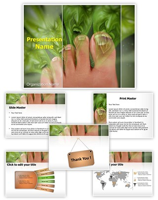 Smelly Feet Editable PowerPoint Template