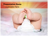 Baby Diapers PowerPoint Templates